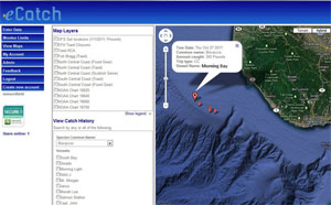 eCatch 2.0 - rebuilding sustainable fisheries on the California coast using GIS