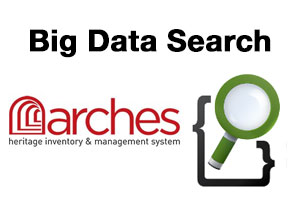 Integrating Big Data search tool Elasticsearch into the Arches geospatial web application