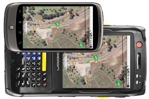 Smartphones, tablets, and GPS accuracy….