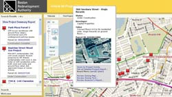 City of Boston Redevelopment Authority: Web Based GIS Redevelopment Project Tracking Portal