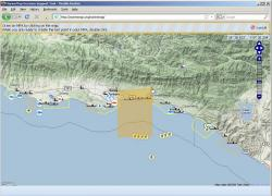 MarineMap web application for identifying marine life protection areas
