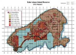 Parsons-UXB Joint Venture on Kaho'olawe Island Reserve Demilitarization GIS