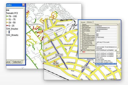 Pavement Management - GIS Integration